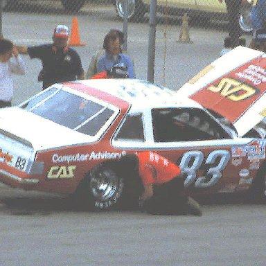 ARCA #83 Bob Dotter 1984 @ Daytona