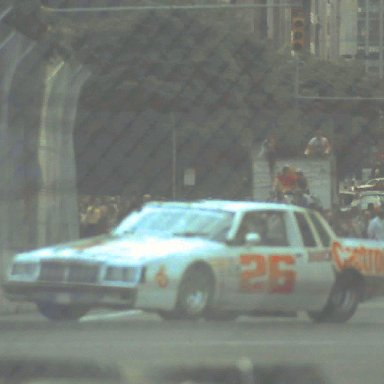 IMSA #26 Bob Overby 1983 Kelly American Challange @ Detroit Grand Prix.