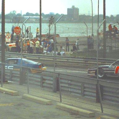 IMSA #56 Craig Carter #12 Tommy Riggens 1983 Kelly American Challange @ Detroit Grand Prix