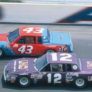 RICHARD PETTY & TIM RICHMOND