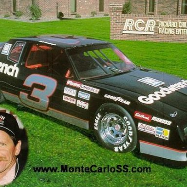 dale earnhardts car