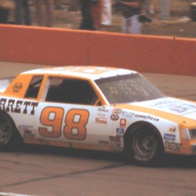 #98 Joe Ruttman  1983 Gabriel 400 @ Michigan