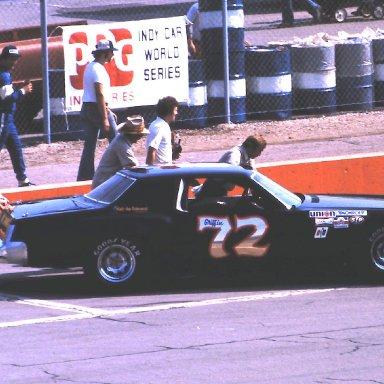 ARCA #72 Pee Wee Griffen 1980 Gould Grand Prix @ Michigan