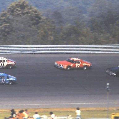ARCA #31 Harvey #11 Allison #17 Rezek #72 Griffen 1980 Gould Grand Prix @ Michigan