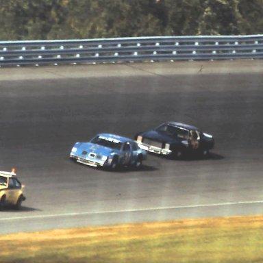 ARCA #31 Harvey #72 Griffen #6 Tovella 1980 Gould Grand Prix @ Michigan