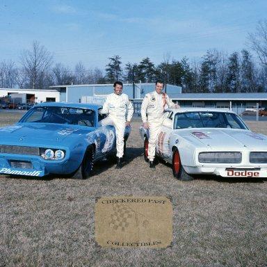 Richard Petty and Buddy Baker