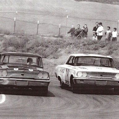 1963 Goldenstate 400 Dave MacDonald & Freddy Lorenzen