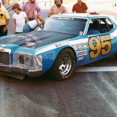 Harry Jefferson 72 Cougar (1977)