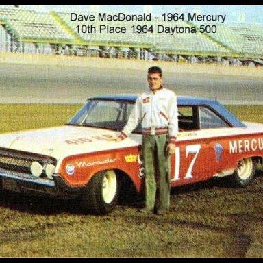 1964 Daytona 500 Dave MacDonald