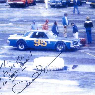 My car after rebody from 72 Cougar, Driven here by Derrike Cope