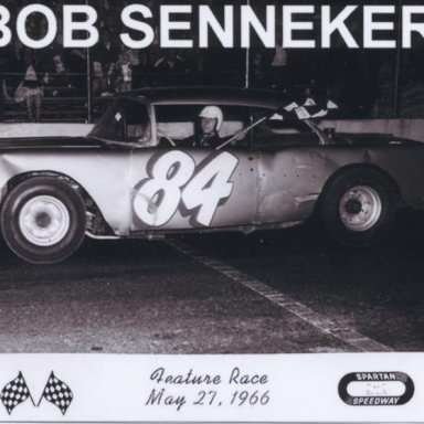 #84 Bob Senneker @ Spartan (MI) Speedway 1966