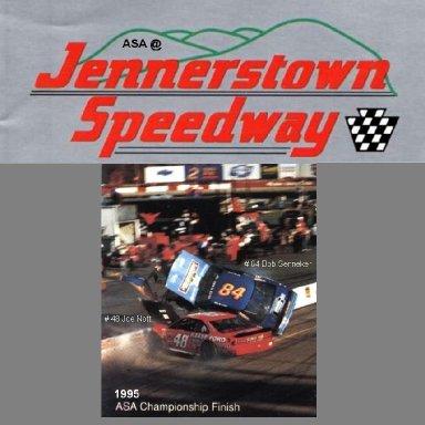 """""""Senneker Wins"""" @ Jennerstown (PA) Speedway ASA 1995"""
