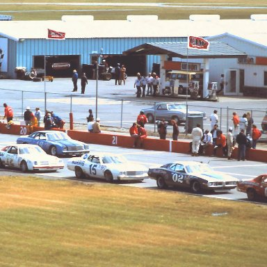 #14 Coo Coo Marlin #02 Budd Hagelin #15 Buddy Baker #72 Benny Parsons #19 Henley Gray 1976 Cam 2 Motor Oil 400  @ Michigan