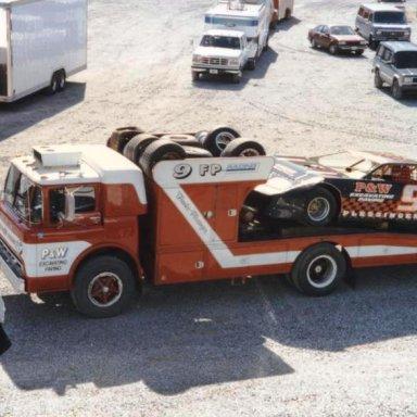 #9 Frankie Plessinger @ Hagerstown (MD) Speedway Feb 23rd 1997
