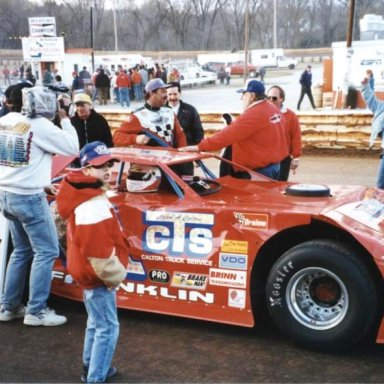 #01 Rodney Franklin @ Hagerstown (MD) Speedway Feb 23rd 1997 Winner