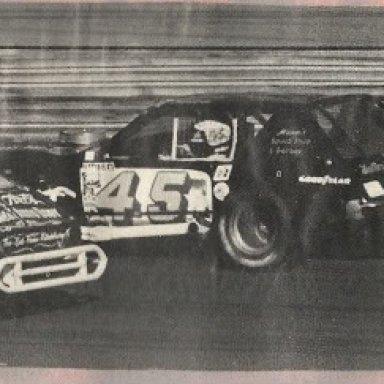 William Masons Car #45-Out of Bassett Va.