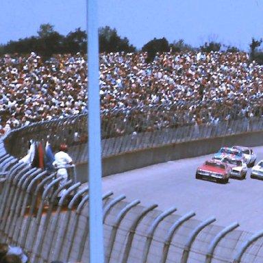 #71 Dave Marcis #2 Bobby Allison 1976 Cam 2 Motor Oil 400 @ Michigan