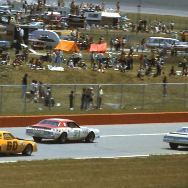 #72 Benny Parsons #21 David Pearson #60 Jackie Rodgers 1976 Cam 2 Motor Oil 400 @ Michigan