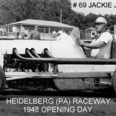 #69 Jackie Jiarrusso at Heidelberg (PA) Raceway 1948