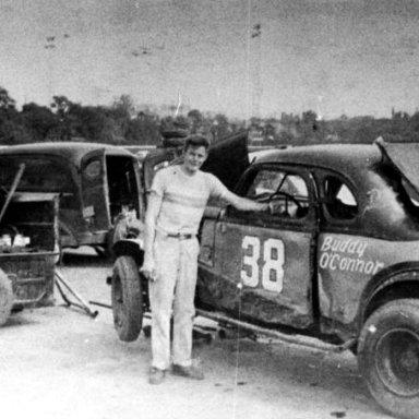 #38 Buddy O'Connor @ Heidelberg (PA) Raceway 1955