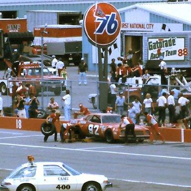 #92 Skip Manning  1976 Cam 2 Motor Oil 400 @ Michigan
