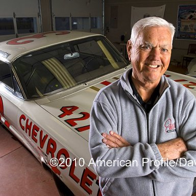 Junior Johnson at his home in N.C.