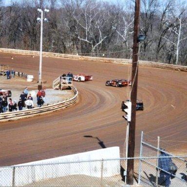 #15 Tommy Armel & #11 Charlie Schaffer @ Hagerstown (MD) Speedway Feb 23rd 1997