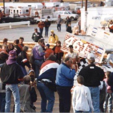 #461 Lance DeWease @ Hagerstown (MD) Speedway Feb 23rd 1997 Winner