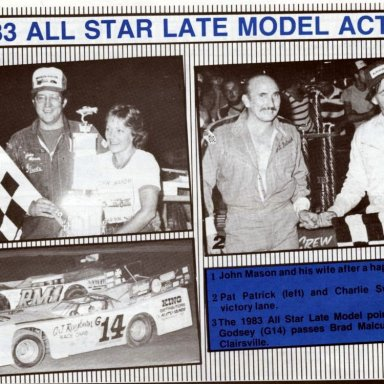 1983 All Star Circuit of Champions Action