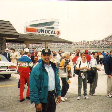 17Reggie at Daytona