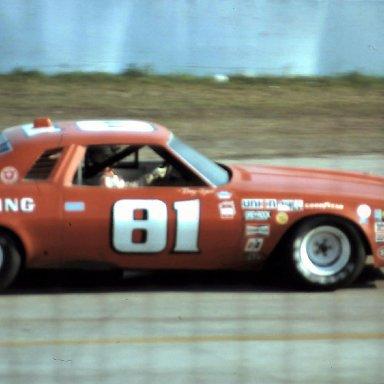 #81 Terry Ryan  1976 Daytona 500