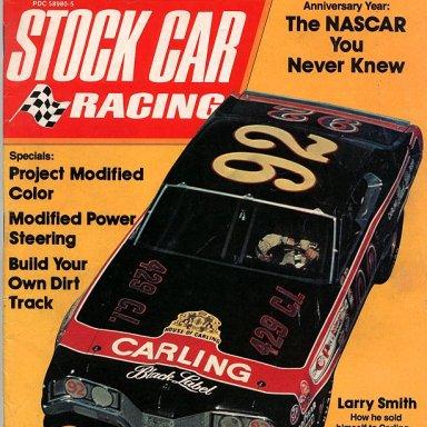 Larry Smith 92 Merc SCR Cover 1973-vi