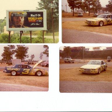 1981 DALE EARNHARDT OPEN HOUSE N.C.M.S.