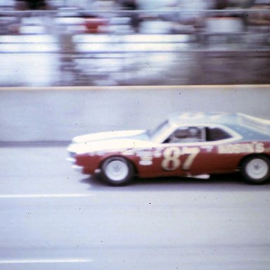 #87 Dave Marcis 1972 Motor State 400 @ Michigan