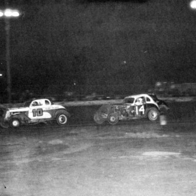 Race Action PRA @ South Park (PA) Speedway 1957