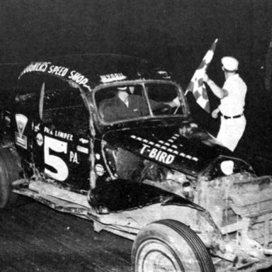 #5 Dick Linder PRA @ South Park (PA) Speedway 1957