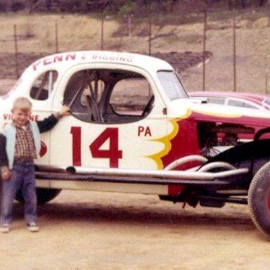 #14 Joe Viglione at South Park (PA) Speedway 1960