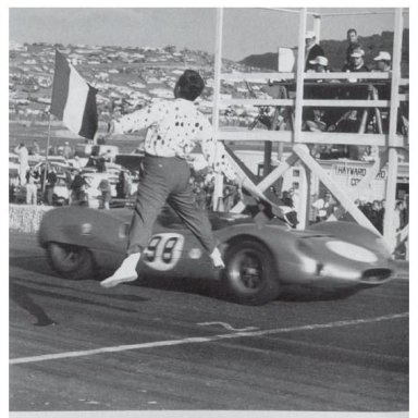 1963 Pacific GP at Laguna Seca - Dave MacDonald in King Cobra