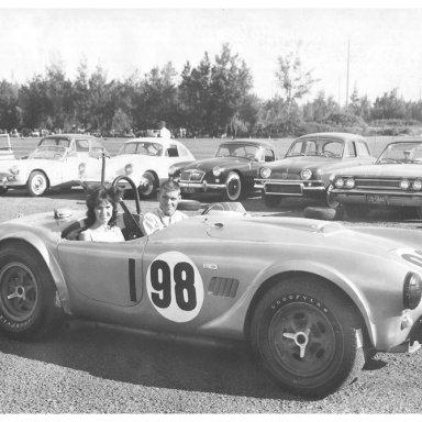 1963 Hawaiian GP - Dave MacDonald in Shelby Cobra