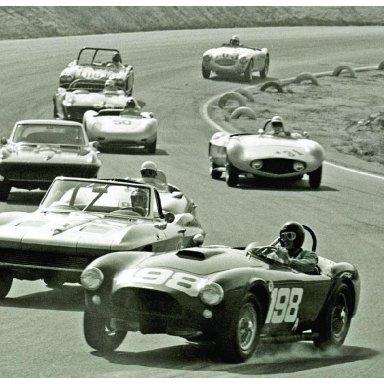 1963 Riverside GP - Dave MacDonald in Cobra's first victory
