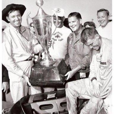 1963 LA Times GP - Shelby & MacDonald