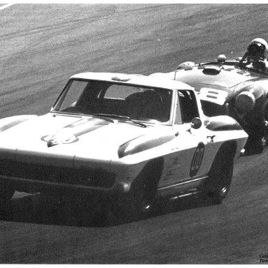 1962 Riverside - Dave MacDonald in Corvette Stingray