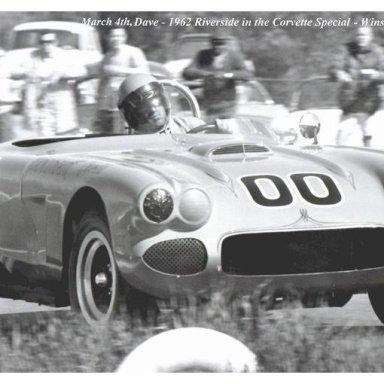 1962 Riverside - Dave MacDonald in Corvette Special