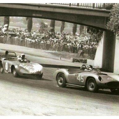 Devin Corvette at Pomona Raceway - Dave MacDonald
