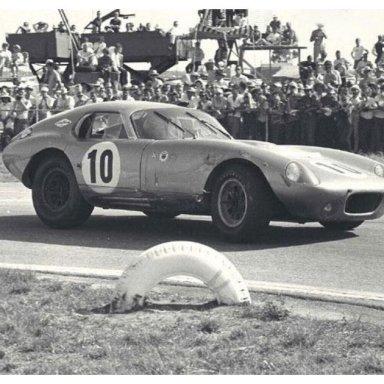 1964 12HRS of Sebring - Dave MacDonald wins GT Class in Shelby Daytona Cobra