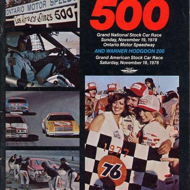 1978 L.A. TIMES 500