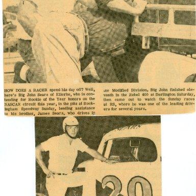 1960'S JAMES SEARS