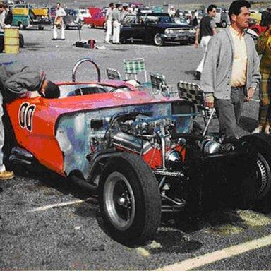 1962 Corvette - Dave MacDonald at Riverside Raceway