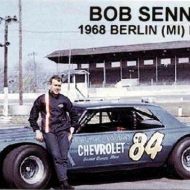 #84 Bob Senneker @ Berlin (MI) Speedway 1968