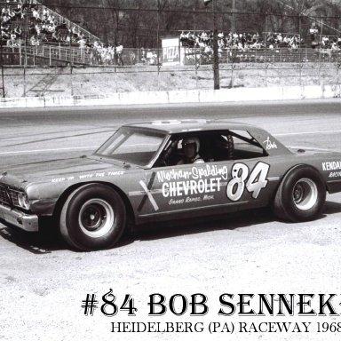 #84 Bob Senneker @ Heidelberg (PA) Raceway 1968